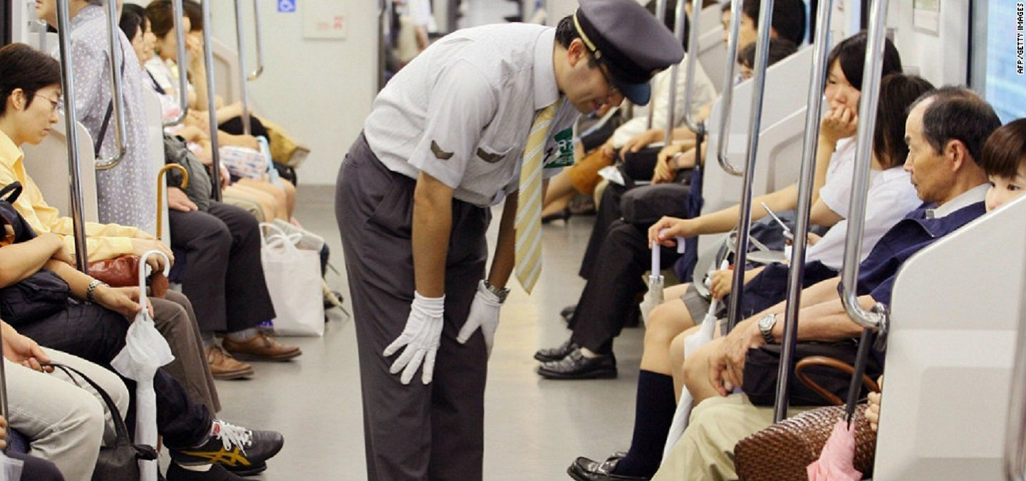 Unlike India, In Japan, The Railways Apologise Even If A