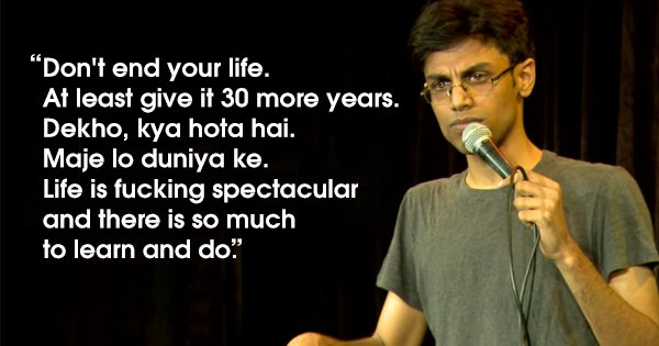Biswa's Heartfelt Post About Depression Is Something Every Youngster Needs To Read