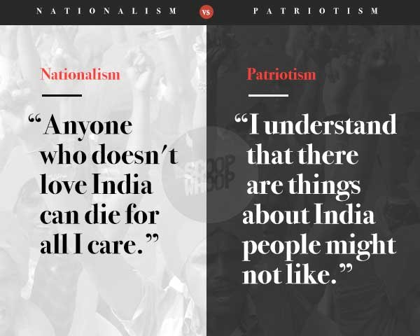 12 Hard Hitting Posters That Show How Patriotism Nationalism Are