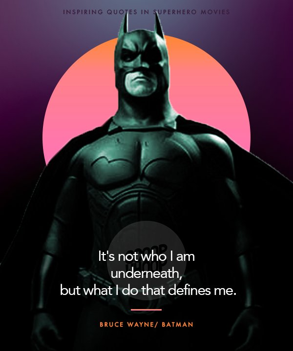20 Inspiring Quotes From Superhero Movies That Will Make You ...