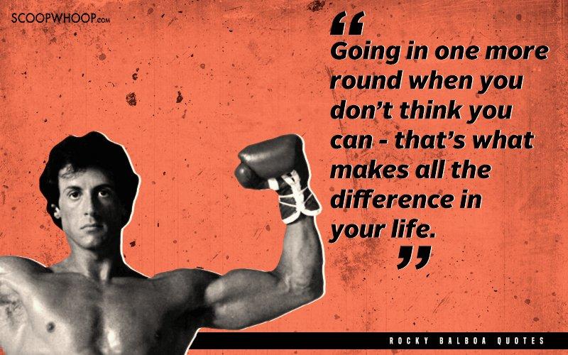 Rocky Quotes 23 Powerful & Inspiring Quotes By Rocky Balboa That Will Help You  Rocky Quotes