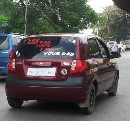 How appropriate that the cars from gujarat