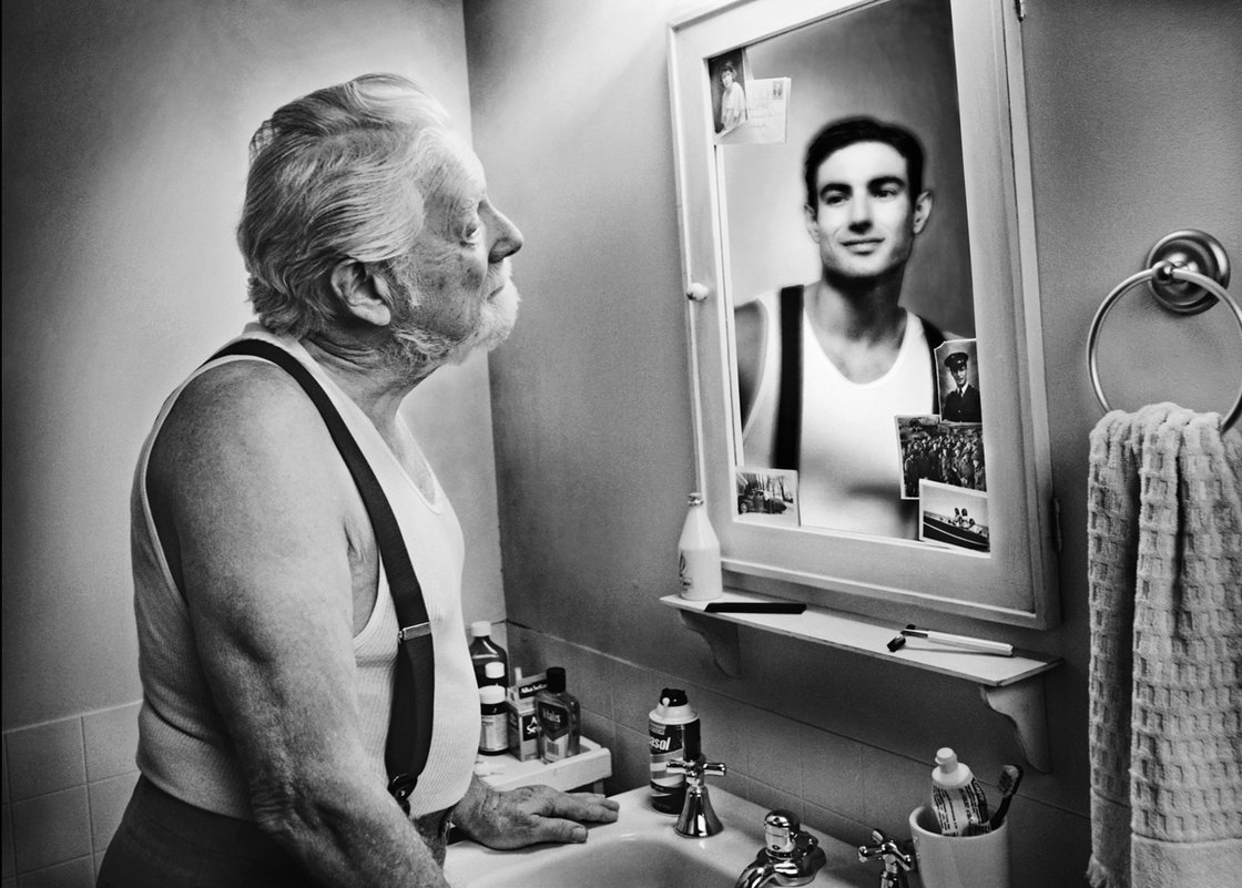 Ever wondered why you look better in the mirror than in a for Mirror that look