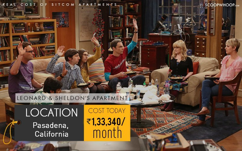 Leonard And Sheldon Live In Two Bedroom One Bathroom Apartment That Has A Giant Living Room An Open Kitchen Let S Be Real No Phd Students At