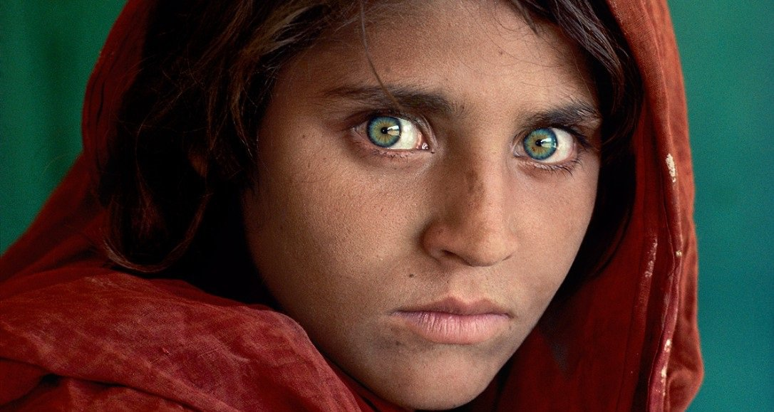 Decades After Being Featured On Nat Geo Famous Green Eyed Afghan