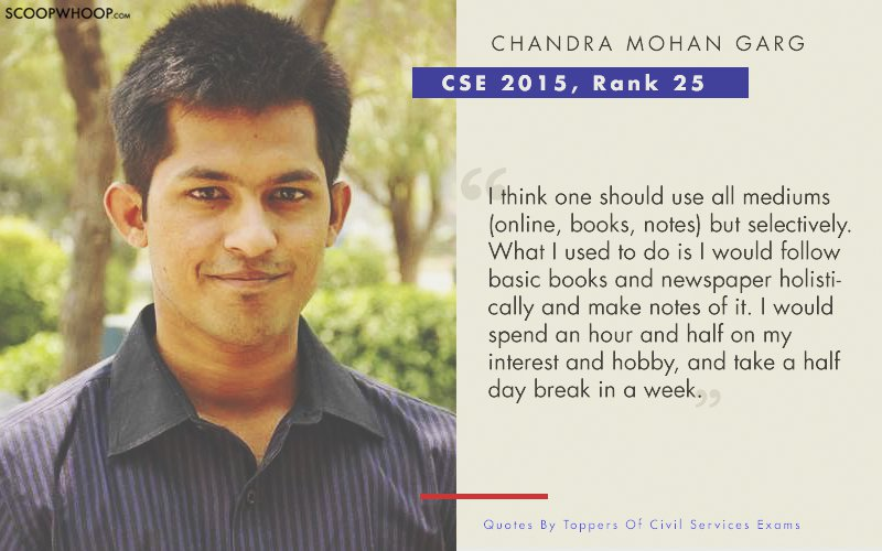 15 Inspiring Quotes By Civil Service Exam Toppers That Ll