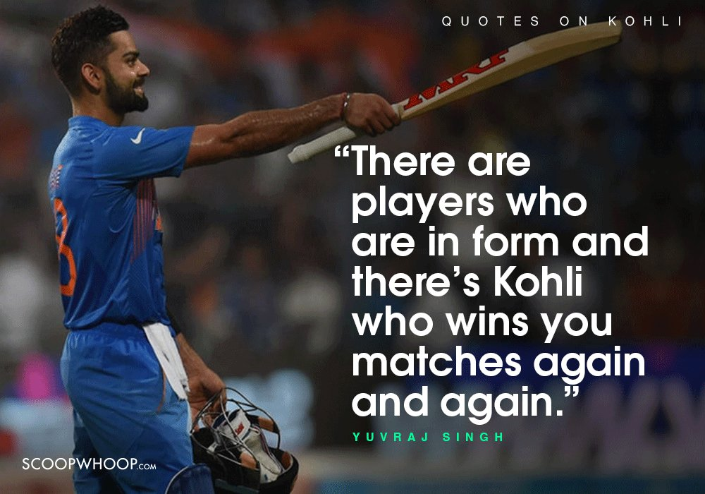 quotes about virat kohli which prove the future of n