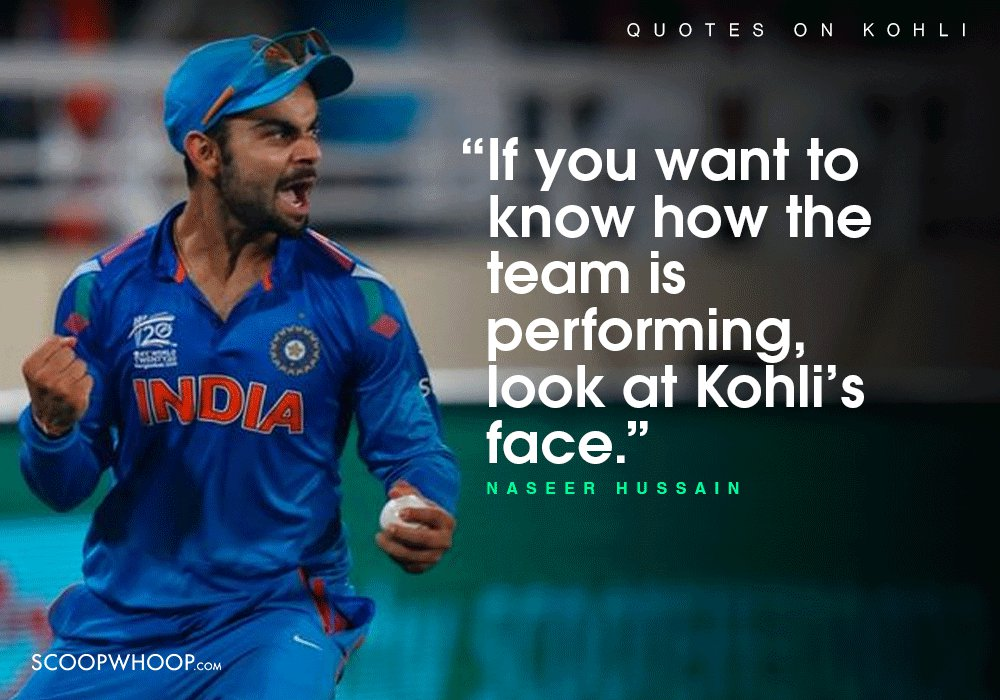 The Legacy And Future Of Team India: 18 Quotes About Virat Kohli Which Prove The Future Of