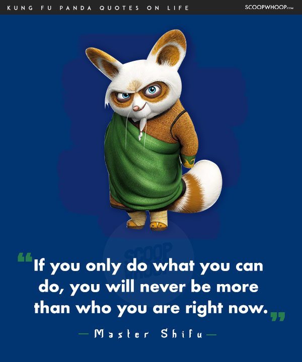 Kung Fu Panda Oogway Quotes: 14 Life Lessons You Learn From The Infinite Wisdom Of Kung