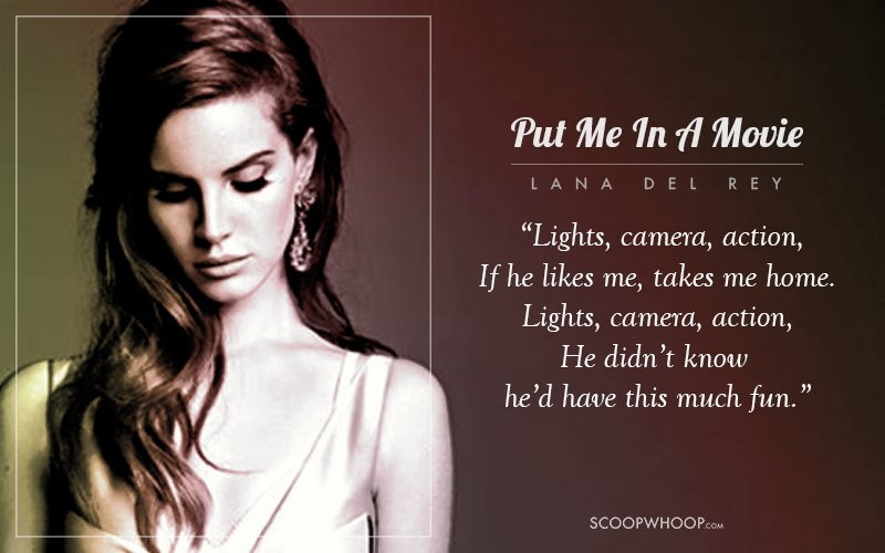 15 Lyrics From Lana Del Rey Songs To Give Words To Your ...