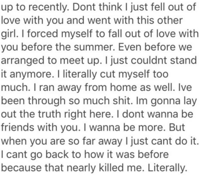 these heartbreaking last messages from exes show the pain that love can sometimes be