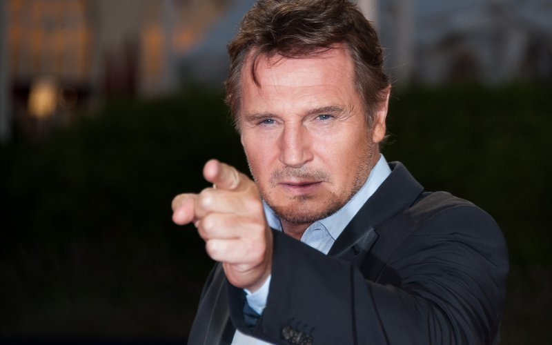 Image result for angry liam neeson pictures