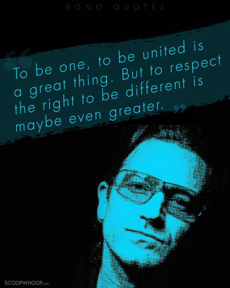 Image result for bono quotes