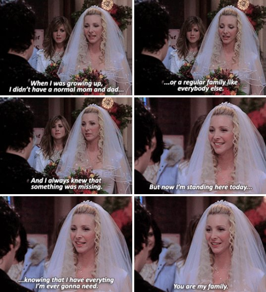 Not Ross Rachel Or Monica Chandler It Was Phoebe Mike Who Made