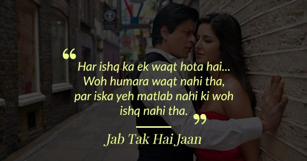 30 Romantic Dialogues From Bollywood Films That Beautifully Express