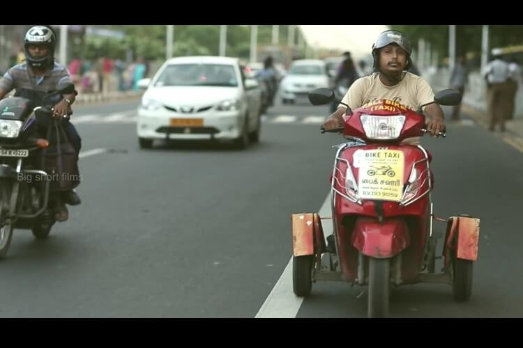 This Chennai Based Bike Taxi Service Is Being Run By The Differently