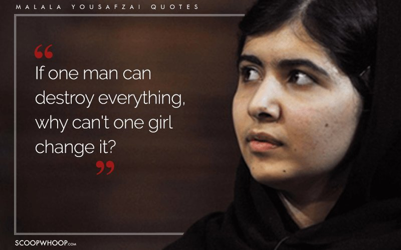 I Am Malala Quotes Awesome 15 Quotesmalala Yousafzai That Show How The Pen Holds More