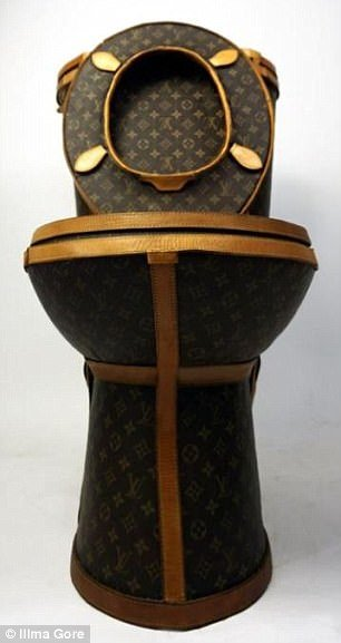 16f32e120f69 Someone Made A Louis Vuitton Toilet From 24 Designer Bags Worth ₹65 Lakh.  No Shit!