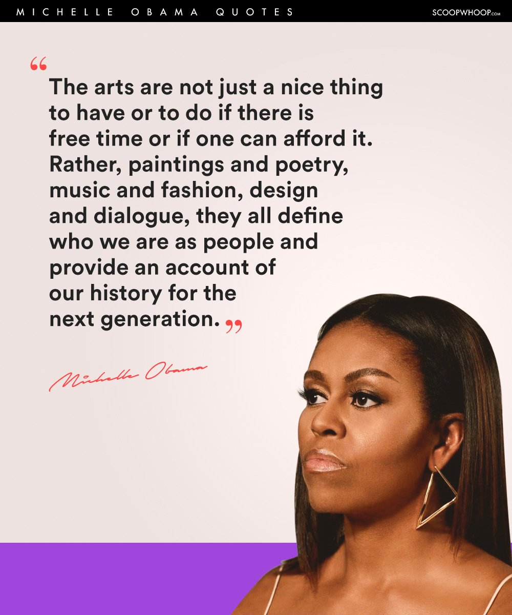 Michelle Obama Quotes About Women: 21 Michelle Obama Quotes On How To Live Life Like A True