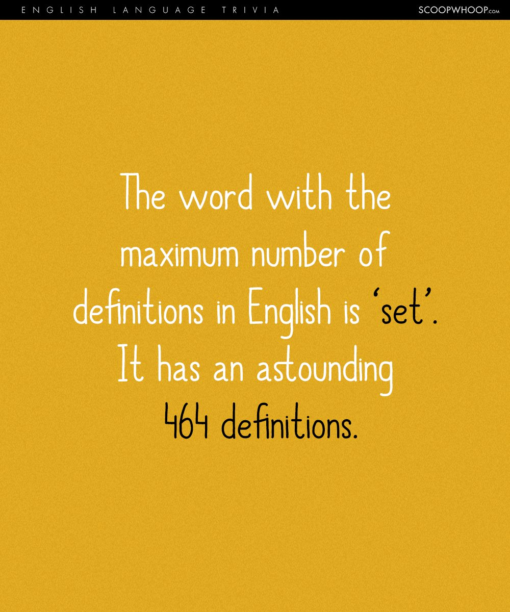 17 Interesting Trivia About The English Language We Bet You Didn't Know