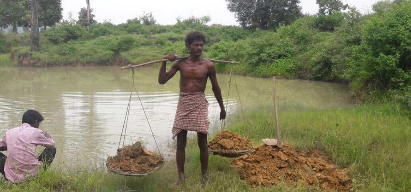 Another Real-Life Manjhi This Man Dug A Pond Alone For 27 Years To Bring Water To His Village