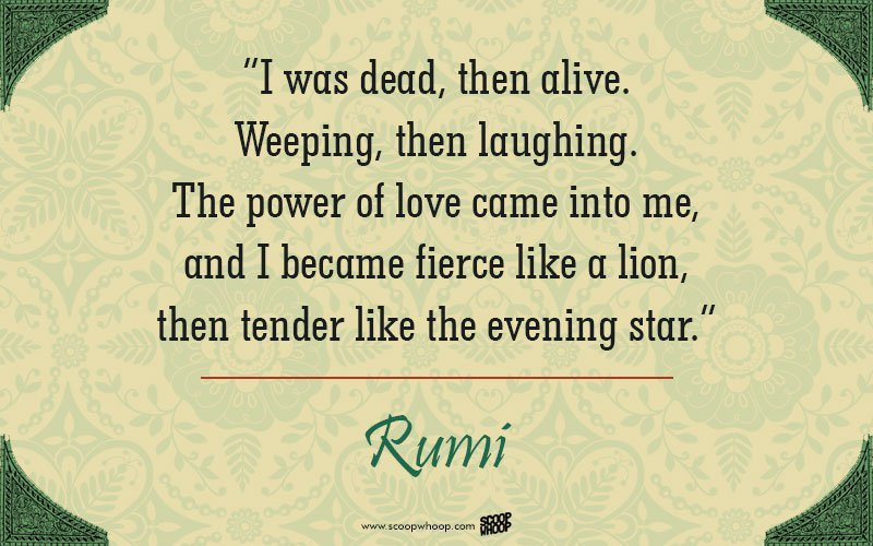 30 quotes by rumi that will change the way you look at