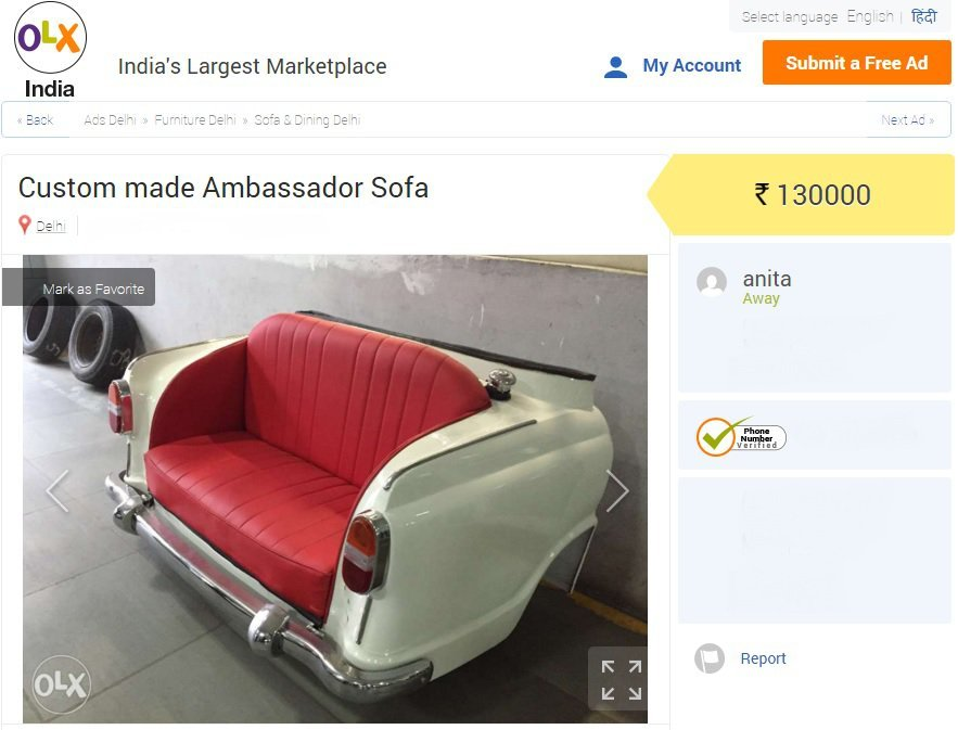 9 Insanely Cool Things That You Can Find On OLX