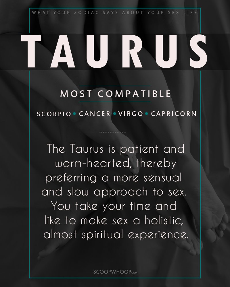Capricorn and taurus sexuality
