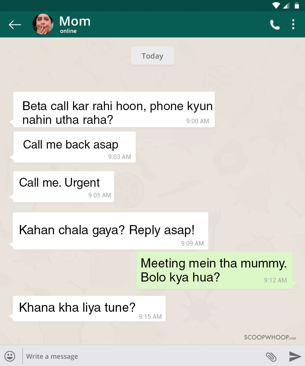 12 WhatsApp Conversations With Indian Parents That Are Hilariously Real