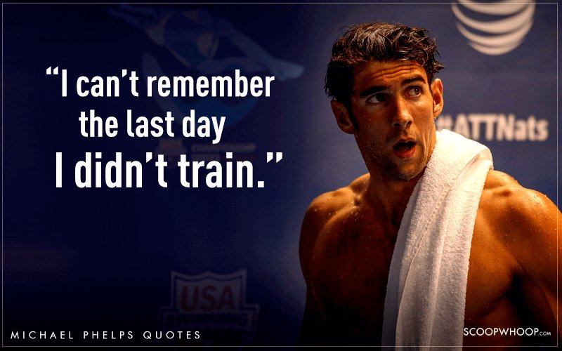 14 Quotes By Michael Phelps That Explain Why He S The