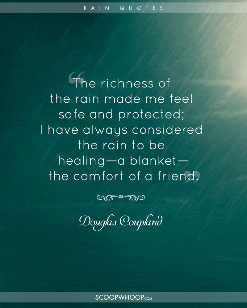 If You Too Are Thrilled By The Rains, Youu0027ll Love These Quotes Describing  Their Charm: