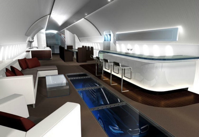 These Ultra Luxurious Private Jets Owned By The Super Rich
