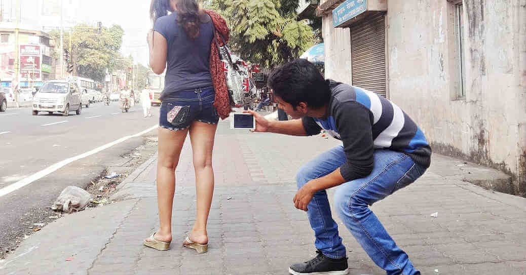 If I See a Girl Wearing Shorts and Her Bra Strap is Showing, I Simply Must Have Her by  Supriyo Mukherjee