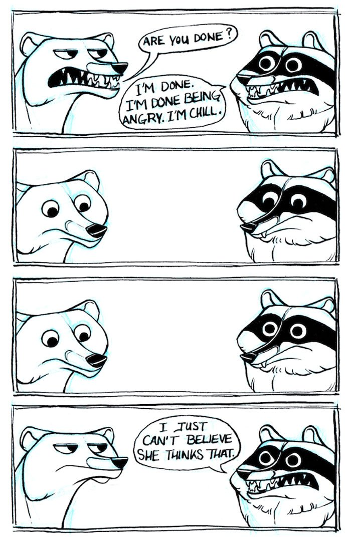 These Illustrations On Adulthood From A Raccoons Pov Will Make You Laugh  Then Cry-6537