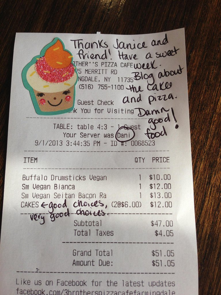30 awesome messages on bill receipts that will totally