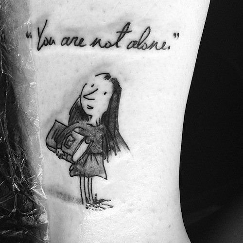 If You're A Bibliophile, These Literary Tattoos Will Inspire You To Get Inked