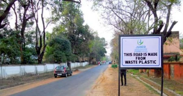 An indian city is using plastic waste to make roads what for Best out of waste environment