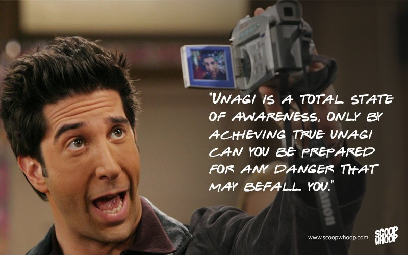 15 Memorable Quotes By The One And Only Ross Geller From FRIENDS