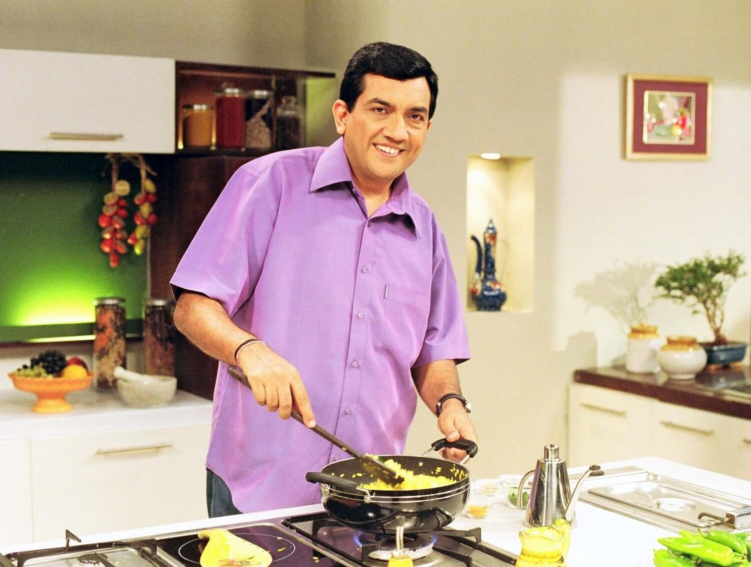 What sanjeev kapoor can do with drumsticks proves hes a rockstar sanjeev kapoor the name is synonymous with cooking forumfinder Images
