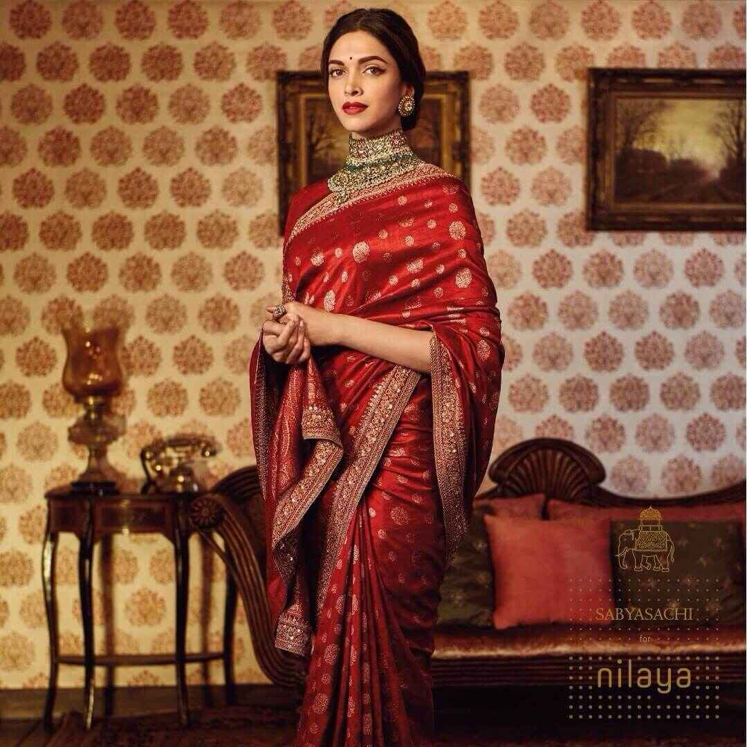 e34cba5ea7 From Sabyasachi's Nilaya collection for Asian Paints. Source:  indinacelebrityfashion