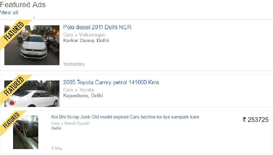 Retired Army Man Finds His Stolen Honda City Car On OLX