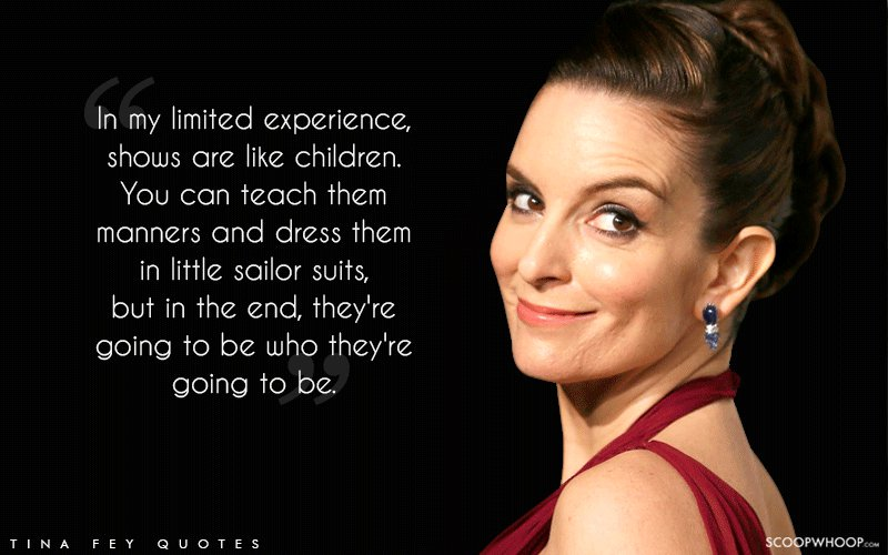 25 Quirky Quotes By The Inimitable Tina Fey That Teach You ...