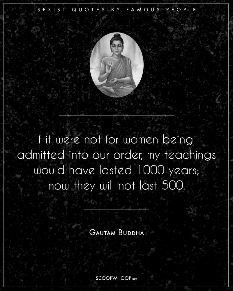 sexist quotes against women