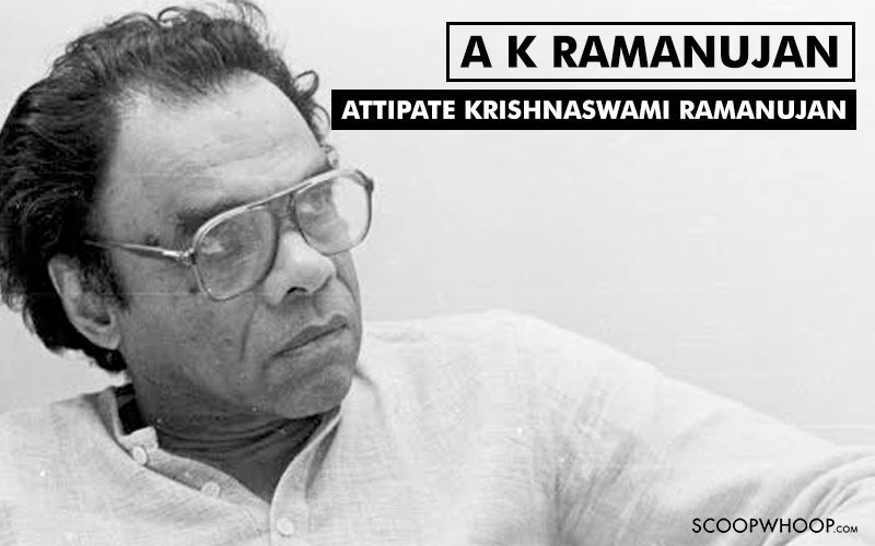 Image result for a k ramanujan