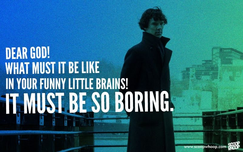 Sherlock Quotes Enchanting On Benedict Cumberbatch's Birthday We Look Back At The 48 Best