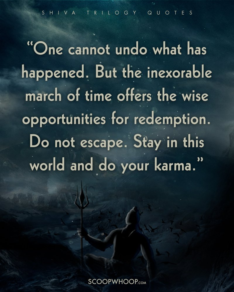 24 Quotes From The Shiva Trilogy Thatll Make You See Good Evil