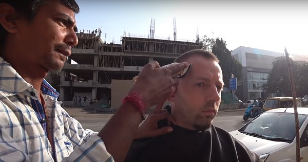 Foreigner Pays Ahmedabad Barber ₹28,000 For ₹20 Haircut In Heartwarming Video