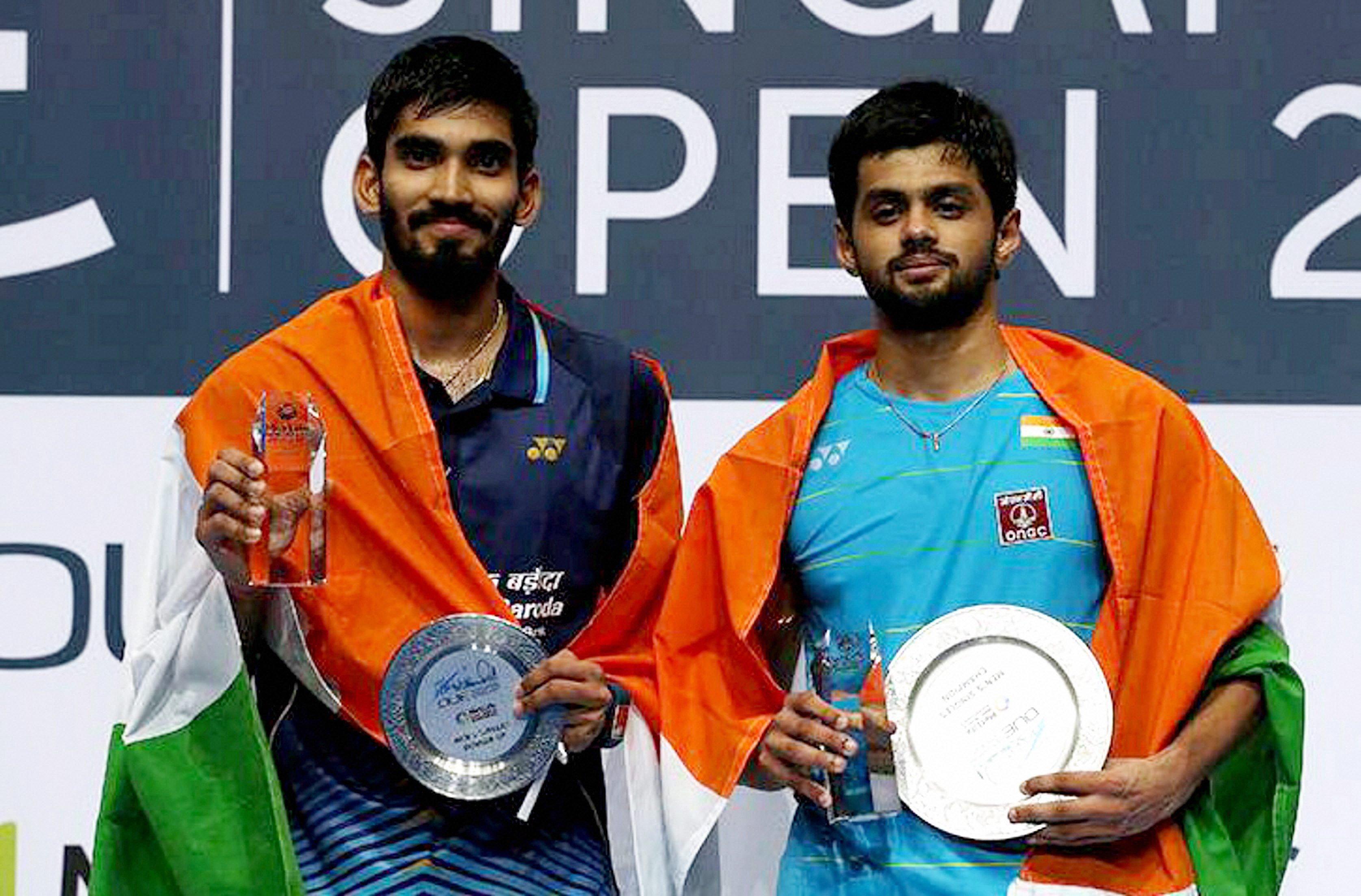 Sai Praneeth & Srikanth Created Indian Badminton History But
