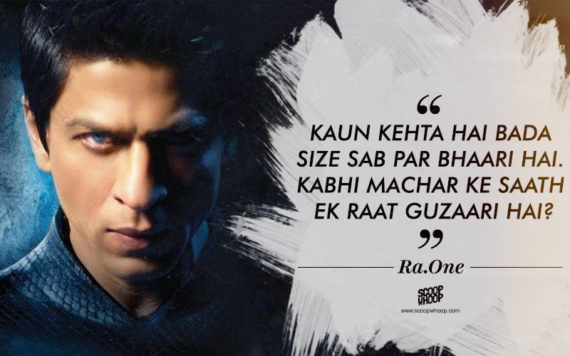 50 Lesser Known Dialogues By Shah Rukh Khan You Probably Havent Heard