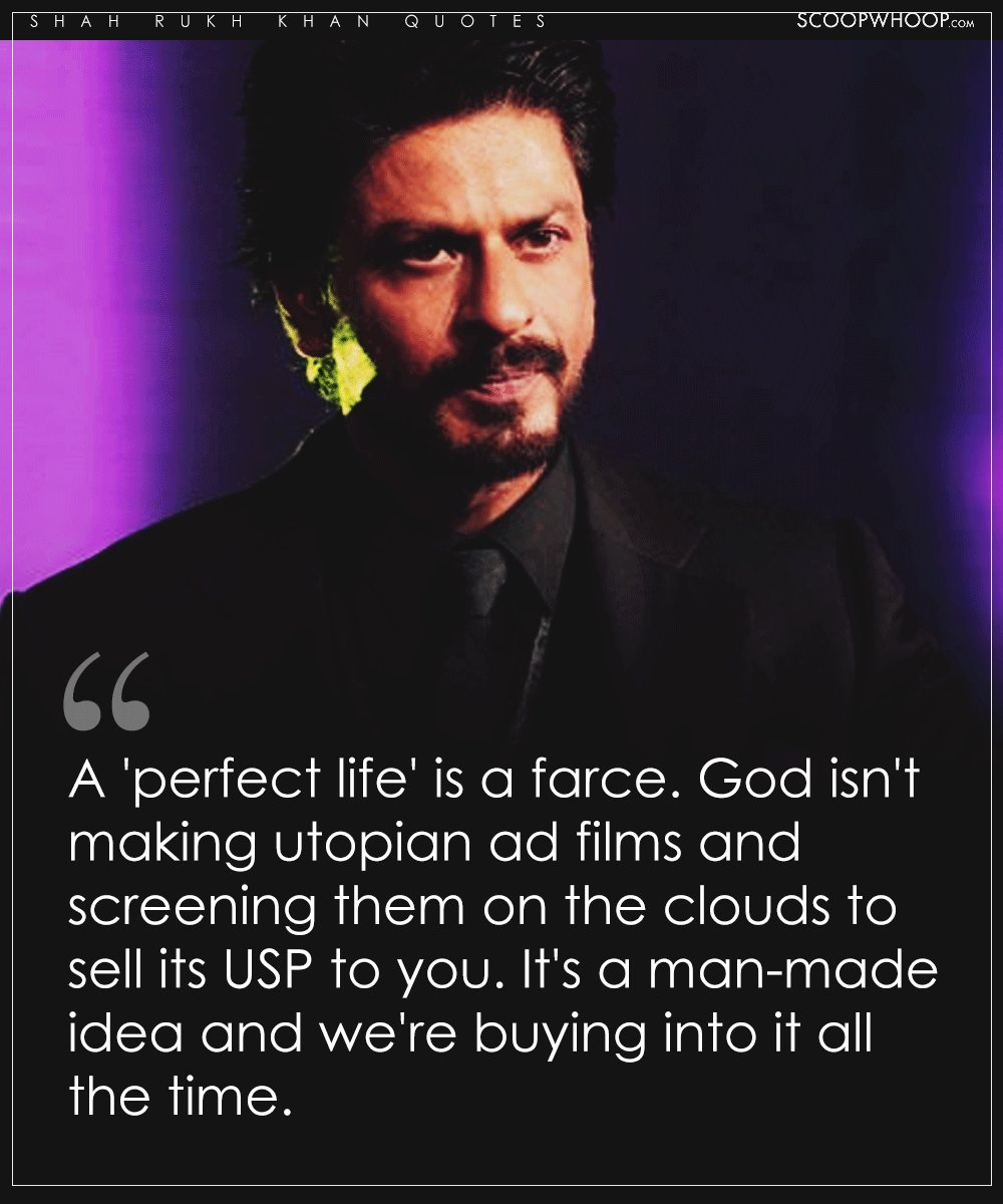 Short Sweet I Love You Quotes: 51 Profound Shah Rukh Khan Quotes That Prove Being A